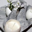 Ostereier färben mal anders: DIY marmorierte Ostereier mit Nagellack einfach selber machen