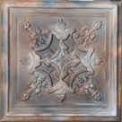 PVC Ceiling tiles Faux finishes washed brown embossed Interior wall panels PL07 10tiles/lot