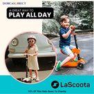 Lascoota Kick Scooter for Kids (Refurbished)