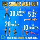 Shower Workout