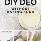 DIY deodorant no baking soda recipes