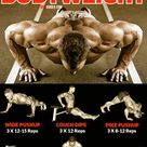 Build a powerful upper body with a push-up routine