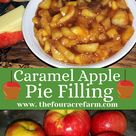Caramel Apple Pie Filling