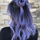 Periwinkle Hair Color Is The Newest Hair Trend