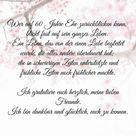Sprüche zur diamantenen Hochzeit, Gedichte & Zitate