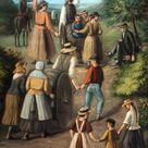Handcart Pioneers - By C.C.A. Christensen - Giclee Canvas Print - Latter-day Saint Art 30% off SALE