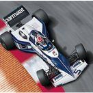 AOSHIMA 1/20 BEEMAX series No.14 Brabham BT52 1983 Monaco Grand Prix specification plastic model