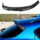 JXJ Real Carbon Fiber Car Rear Spoiler Tailgate Spoiler Rear Rear Trunk Trunk Rear Spoiler Suitable for Stilfserjoch Quadrifoglio Verde 2017 2018, Car Modification Accessories