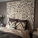 Decorative Mandala Bed Headboard 47