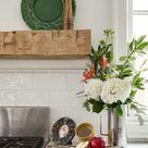 Hand Hewn Beam Fireplace Mantel 6x6 | 6 Foot Mantel | Elmwood Reclaimed Timber