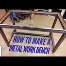 How to make a metal workbench