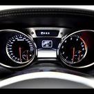 2012 Brabus Mercedes Benz SL roadster gauges