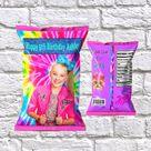 Jojo Siwa Chip Bag - Jojo Siwa Birthday - Jojo Siwa Party - Jojo Siwa Decorations - Jojo Siwa Birthday Party -Custom Chip Bag