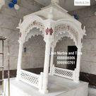 Palki Sahib for Gurudwara   White Marble gurudwara