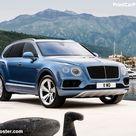 Bentley Bentayga Diesel 2017 Poster. ID1282751