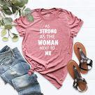 As Strong As The Woman Next To Me Shirt, Feminist Shirt, Girl Power, Inspirational Girl Lady Tee, Strong Women Shirt