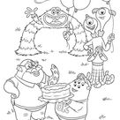 Monsters University Coloring Pages - Best Coloring Pages For Kids