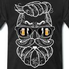 Bart Bärtig Bier und Frauen lustig   Männer Premium T-Shirt