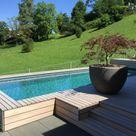 Familiengarten mit Pool