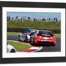 Large Framed Photo. CM9 7699 Sam Tordoff, BMW 125i M Sport,
