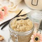 Homemade Vanilla Sugar Scrub Recipe ✨ DIY Body Scrub with Essential Oils for Glowing Skin ✨