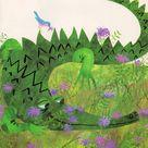 Crocodile Illustration