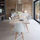 Table en planches de chêne Copenhague | Sur-mesure | FOR ME LAB