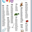 Phonics Words