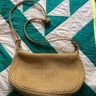 Bottega Veneta Bags   Vintage Bottega Veneta Tan Woven Hobo Bag   Color Tan   Size Os