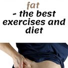 How to quickly remove subcutaneous fat   the best exercises and diet