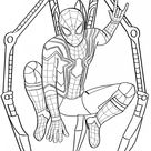 9 Spiderman Colouring Pages