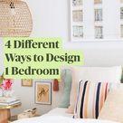 4 Different Ways to Design 1 Bedroom