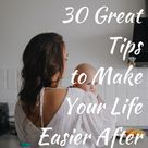 30 Great Tips to Make Your Life Easier After Giving Birth