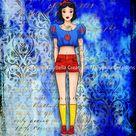 Snow White ~ Urban Culture, BOHO, Hippie, Tattoo, In the hood