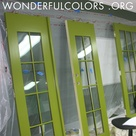 Lime Green Paints