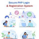 Secure PHP Login Registration System in PHP