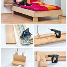 Bett selber bauen  | selbst.de