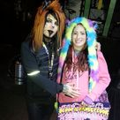 Me and Dahvie Vanity on 11 25 14 He's got his hand on my belly because I'm 5 months pregnant with my daughter Aubrey in this pic