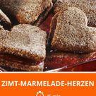 Zimt-Marmelade-Herzen