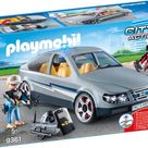Playmobil Konstruktions-Spielset SEK-Zivilfahrzeug (9361), City Action, Kunststoff