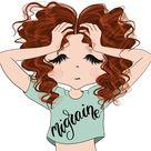 Red Hair Girls, Emoji Nail Sticker, Movie Night Stickers, Angry Girl, Stickers Girls, Planner Stickers, Girls Clip Art, Stickers Creator