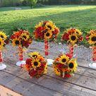 Fall Sunflower Weddings
