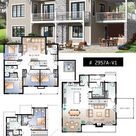 House Plans Design Idea 13.5x9.5 with 4 bedrooms   Home Ideas