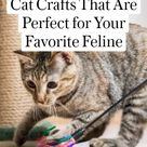 11 Cat Crafts That Are Perfect for Your Favorite Feline