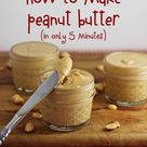 Making Peanut Butter
