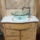 Find more 1900's Antique Washstand Converted Into A Bathroom Vanity for sale at up to 90% off