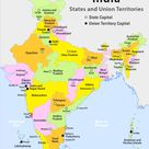 Indian States and their Capitals