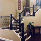 50 Stair Railing Ideas for More Appealing Home Interior - Avantela Home