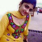 Pakistani girl in yellow salwar kameez