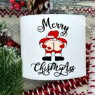 Santa Toilet Paper ChisMyAss Gag Gift Funny Toilet Paper Gag Gift Bathroom Decor White Elephant Gift Christmas Gag Gift